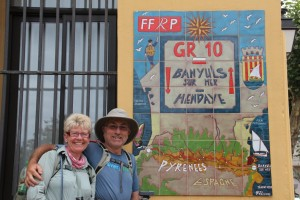 Geoff & Sally in Banyuls