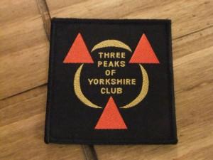 3 peaks badge